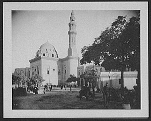Timeline of Cairo - Image: Cairo Mosque LCCN2004707268