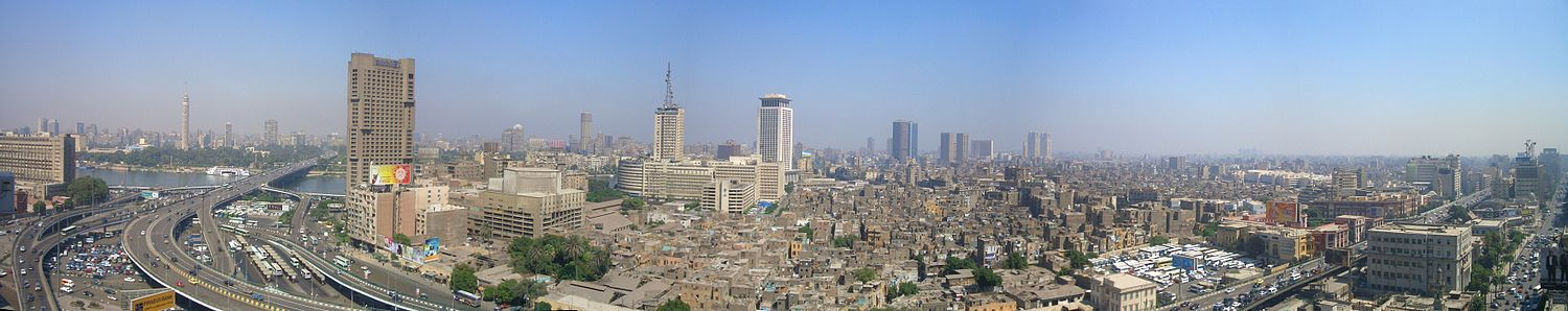 Panorama do Cairo.