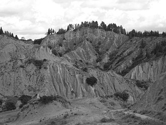 "Badlands - The ""Calanchi"" of Aliano, in the Italian region of Basilicata"