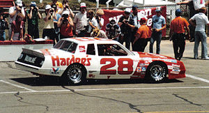 Cale Yarborough - 1983 racecar
