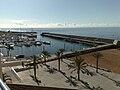 Calheta marina from Calheta Beach Hotel, Madeira.jpg