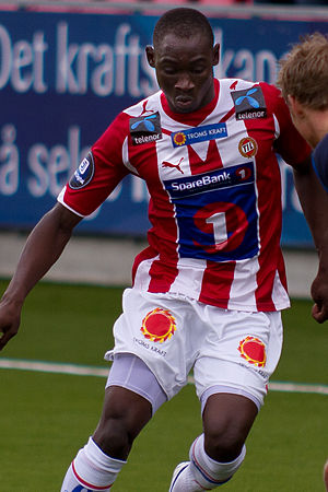 Saliou Ciss - Ciss playing for Tromsø in 2010.