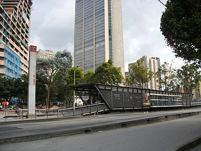 How to get to Calle 26a with public transit - About the place