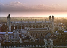 Trinity College, Gonville and Caius College, Clare College en King's College Chapel