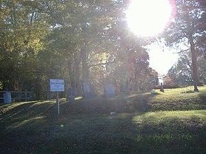 Camp Beauregard Memorial - Image: Camp Beauregard Memorial sunny