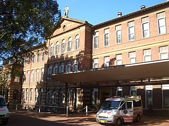 Royal Prince Alfred Hospital - RPA Albert Pavilion