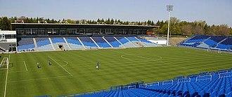 Saputo Stadium - Image: Canada 11