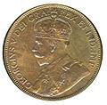 Canada Newfoundland George V 1 Cent 1936 (obv).jpg