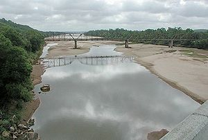 Canadian River - Image: Canadian River Calvin Oklahoma