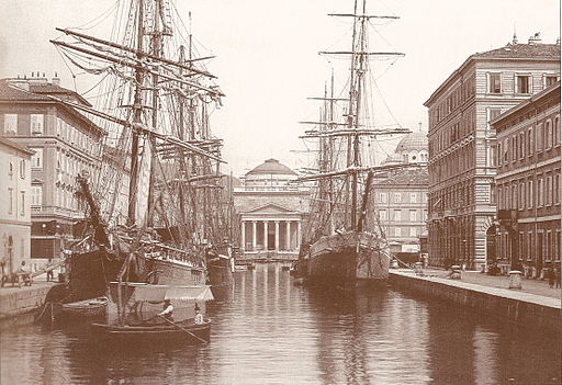 Canal Grande about1900
