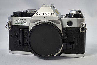Canon AE-1 Program - Image: Canon AE 1 Program D Barthel