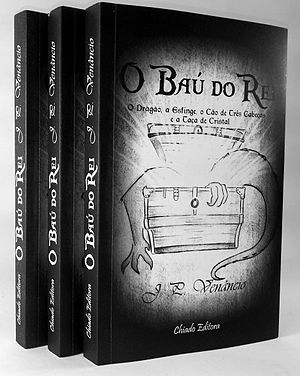 Fantasy literature - Capa de O Baú do Rei