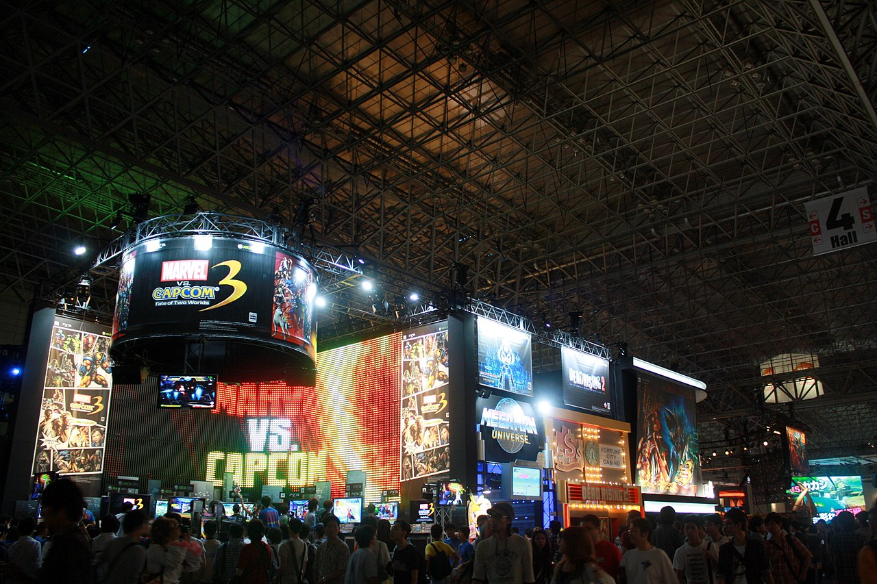 Exhibition Booth Wiki : File capcom booth tokyo game show g wikipedia