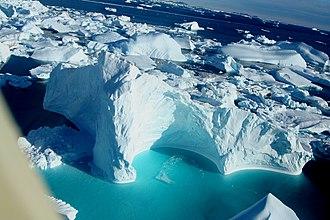 Cape York (Greenland) - Image: Cape York Icebergs