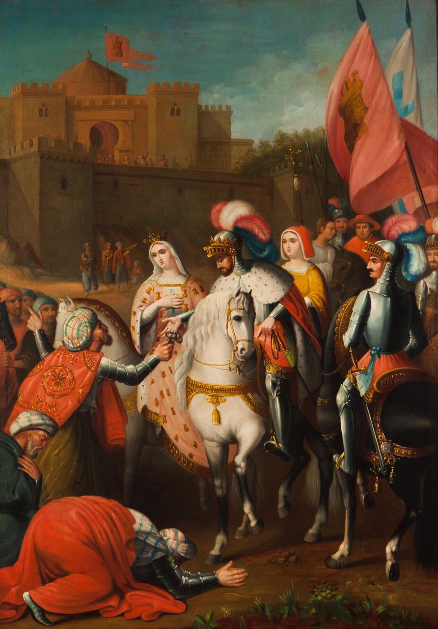 Capitulação de Granada - Vicente Barneto y Vazquez