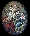 Cappella Giustinian dei Vescovi of San Francesco della Vigna (Venice) - The theological virtues by Jacopo Marieschi.jpg