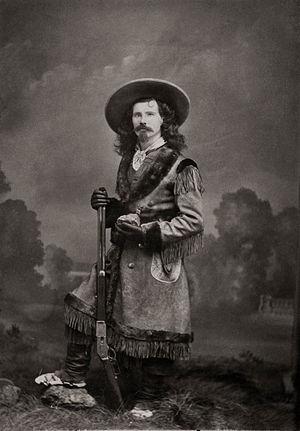 John Wallace Crawford - Crawford in full Western attire, 1881.