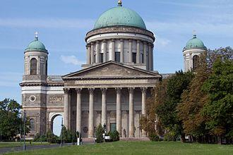 Esztergom Basilica - Image: Caput Mater et Magistra Ecclesiarum Hungariae