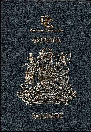 CARICOM passport - Image: Caribbean Community Grenada Passport