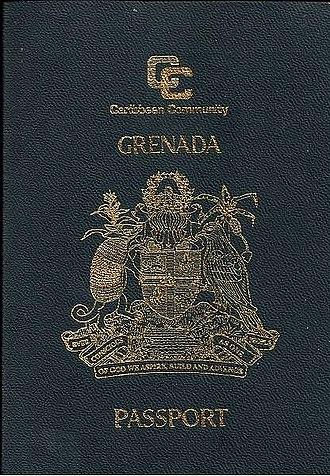 CARICOM passport - Image: Caribbean Community Grenada Passport