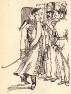 Carl Johan caricature by Fritz von Dardel