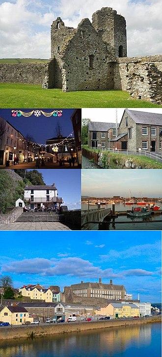 Carmarthenshire - Image: Carmathenshire montage