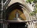 Carmelite church Budapest - Mosaic above the main portal.JPG