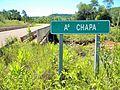 Cartel Arroyo Chapá - Colonia Alberdi (Provincia de Misiones, Argentina).JPG