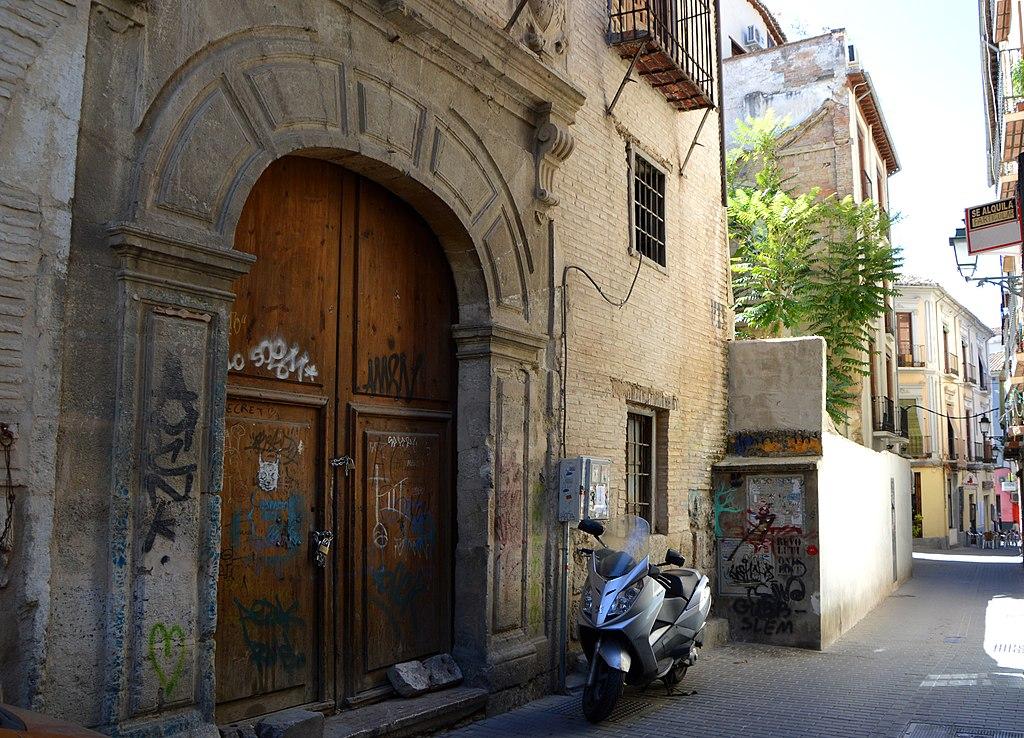 File casa de los vargas antiguo de salazar granada jpg for Casa de granada