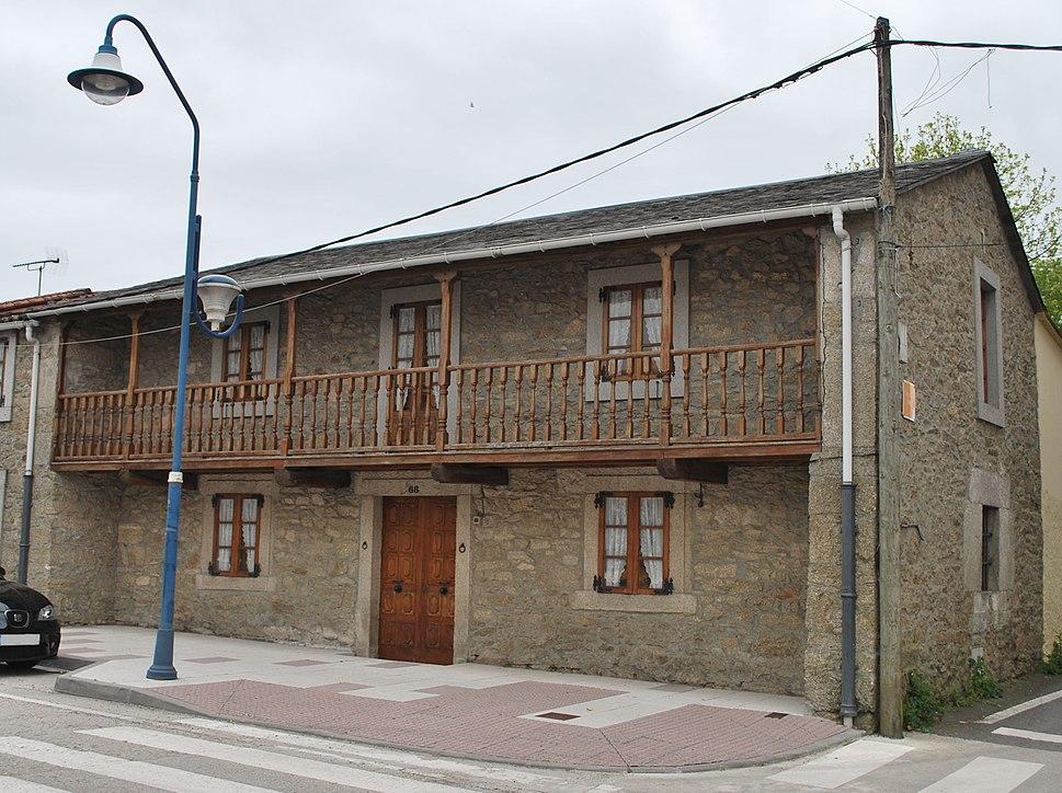 Casa tradicional de Curtis, A Coruña, Galiza, Spain