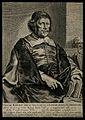 Caspar van Baerle (Barlæus). Line engraving by T. Matham aft Wellcome V0000290.jpg