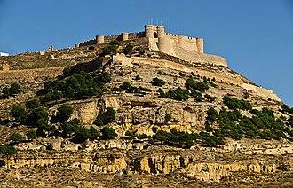 Chinchilla de Montearagón - Image: Castillo de chinchilla de montearagon tclm (1)