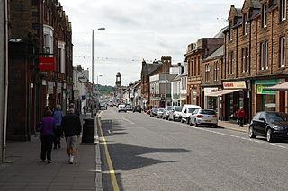 Castle Douglas town