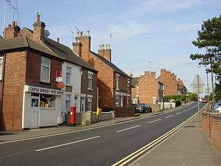 Castle Gresley village and civil parish in South Derbyshire district, Derbyshire, England