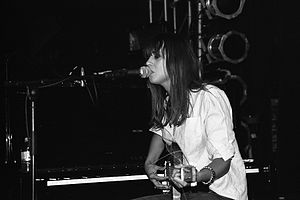 Cat Power - Marshall performing at All Tomorrow's Parties Festival, London, 2008