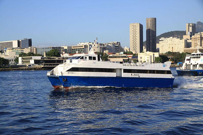 Onde pegar o catamarã no Rio de Janeiro
