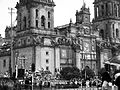 Catedral Metropolitana de la Ciudad de México en desfile.jpg