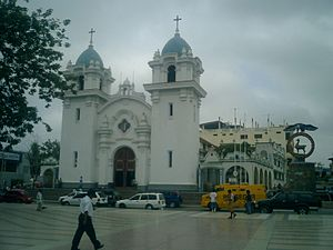 Tumbes Region - Tumbes cathedral.