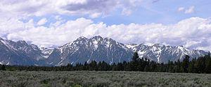 Eagles Rest Peak - Eagles Rest Peak at center