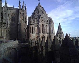 Salamanca - Old Cathedral, Salamanca, built in the 12th century