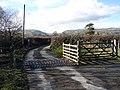 Cattle Grid near Trefeglwys - geograph.org.uk - 124468.jpg