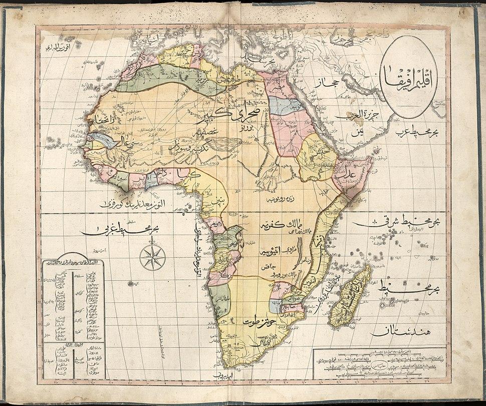 Cedid Atlas (Africa) 1803