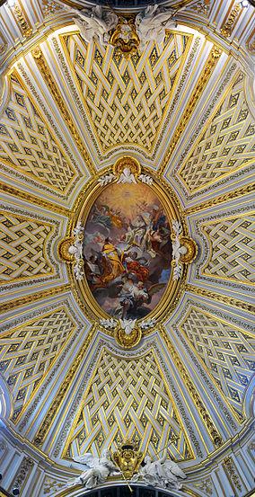 Ceiling of Santissima Trinità degli Spagnoli (Roma)