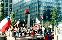 la transicion a la democracia en chile: