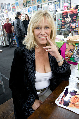 Marilyn Chambers - Chambers at the 2008 ''Girls and Corpses'' Halloween Party