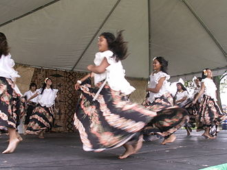 Culture of Guam - Chamorro dancers