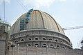 Chandrodaya Mandir Central Dome Under Construction - Temple Of Vedic Planetarium - ISKCON Campus - Mayapur - Nadia 2017-08-15 2092.JPG
