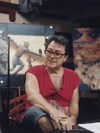 Charles Billich - Billich, photographed in his studio (2008)