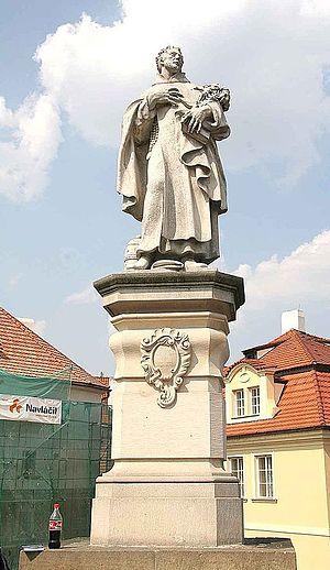 Philip Benizi de Damiani - Statue of Philip Benizi on the Charles Bridge, Prague