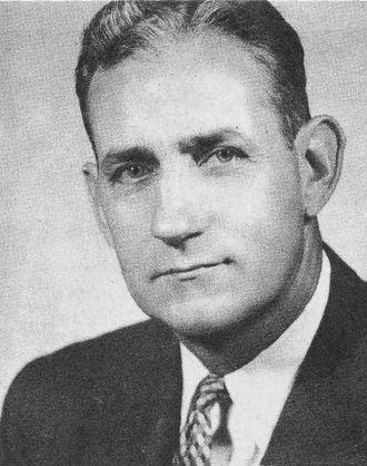 Charlie Gehringer - Gehringer as Detroit Tigers vice-president (1957)